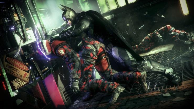 Batman Arkham Knight fight