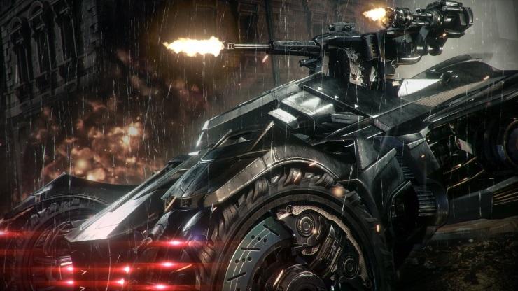 Batmobile Arkham Knight