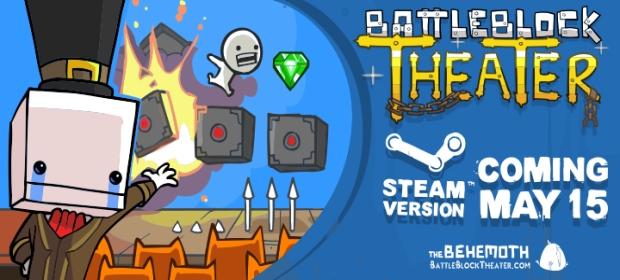 BattleBlock Theater: Steam Release Date & Trailer
