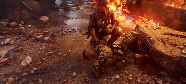 EA Labels Boss Says Battlefield Vs Call of Duty is Good for Video Games