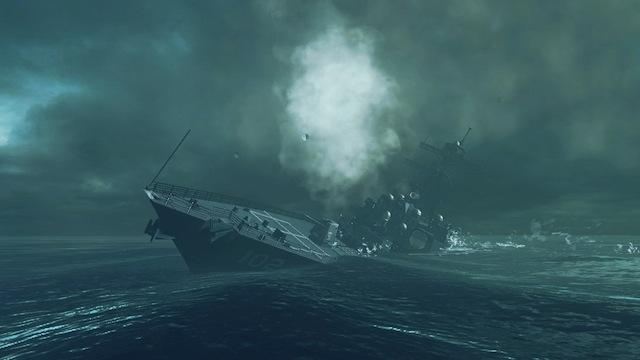 Battleship - Sinking