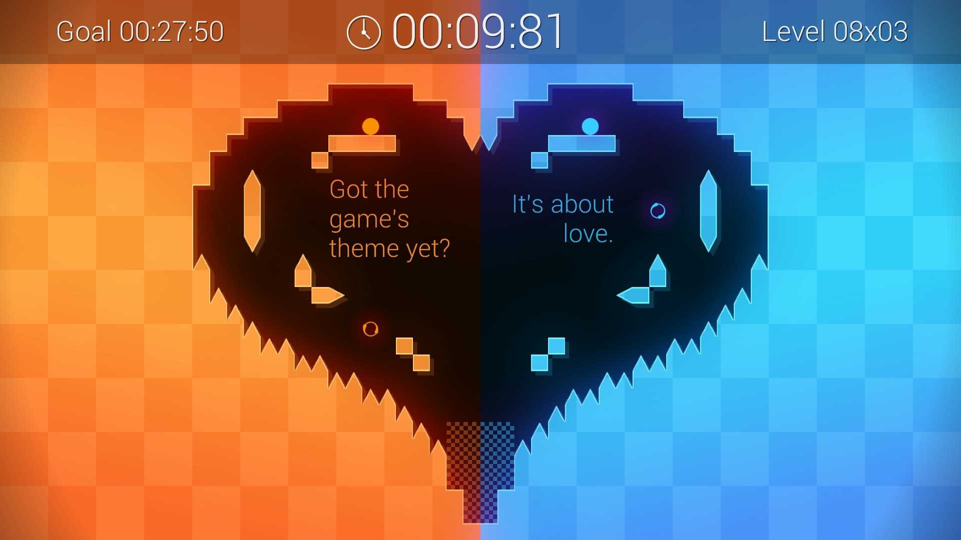 Binaries heart screenshot