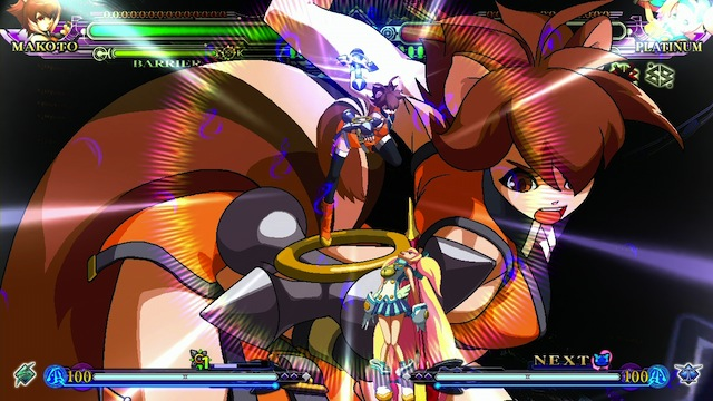 BlazBlue: Continuum Shift Extend - Makoto Attack