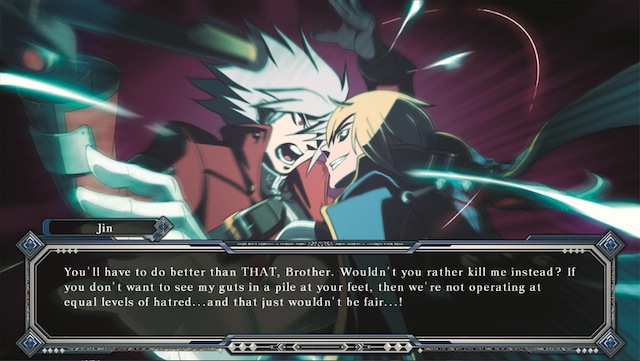 BlazBlue: Continuum Shift Extend Vita - Argue