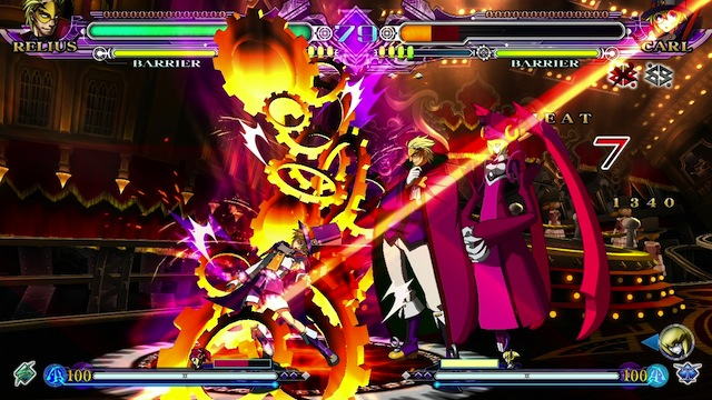 BlazBlue: Continuum Shift Extend Vita - Relius