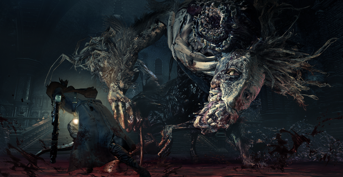 Bloodborne the old hunters ludwig