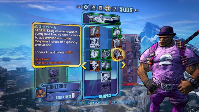 Borderlands 2 - Skill Tree