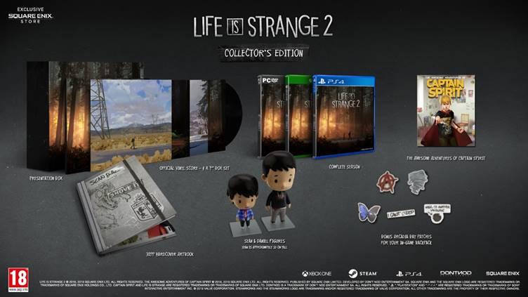 Life is Strange 2 Boxed Edition
