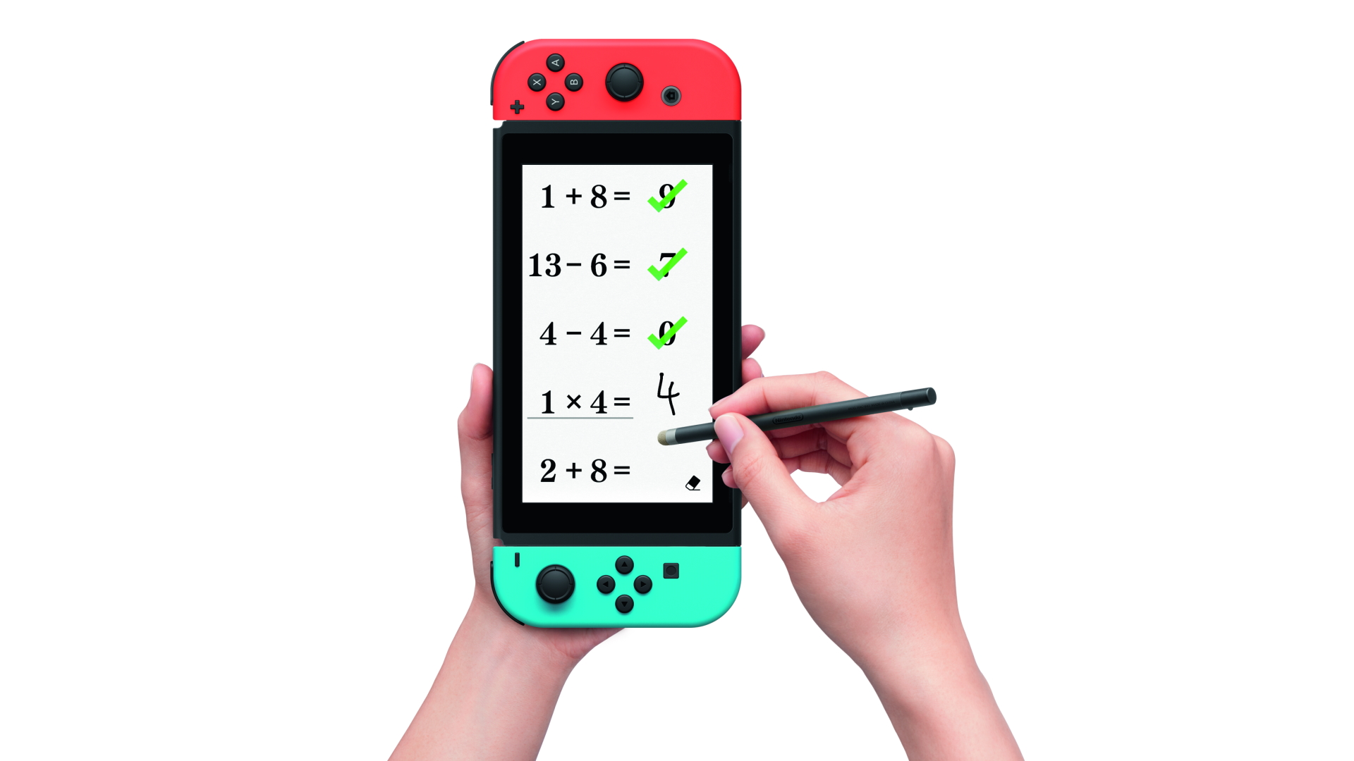 Using the Stylus in Brain Training for Nintendo Switch