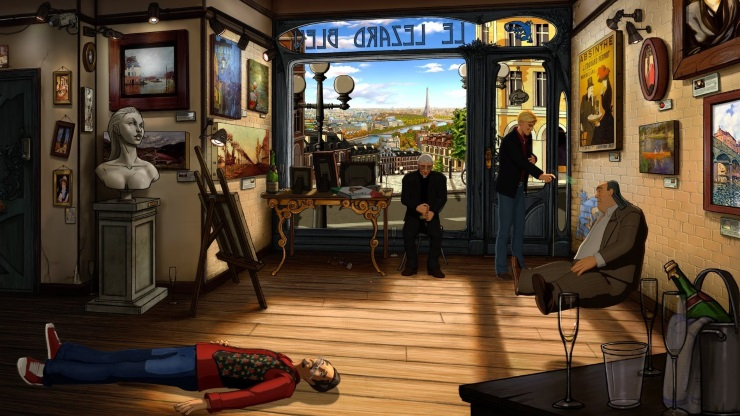 Broken Sword ps4 review