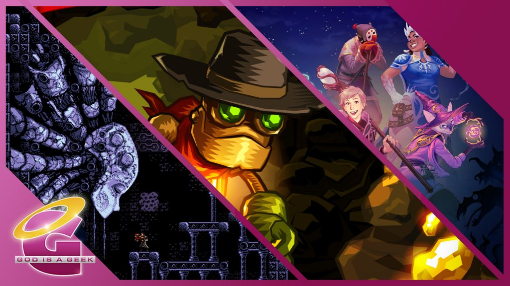 Switch Re:Port 4: Axiom Verge, SteamWorld Dig, Crypt of the