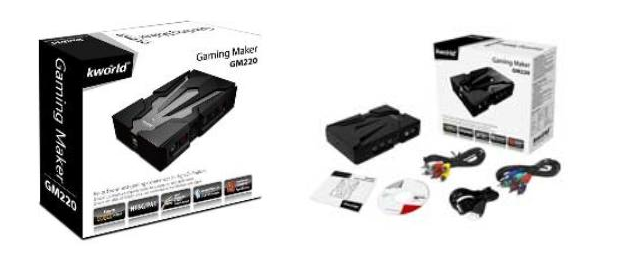 K-World GM220 Gaming Maker Capture Device Review