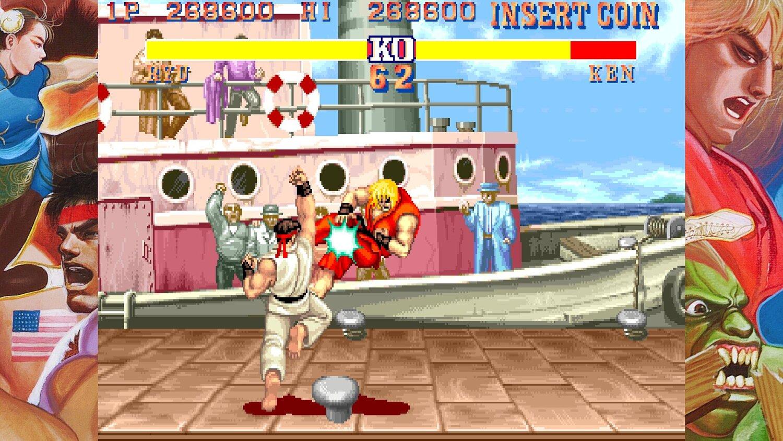 Capcom Arcade Stadium Street Fighter II