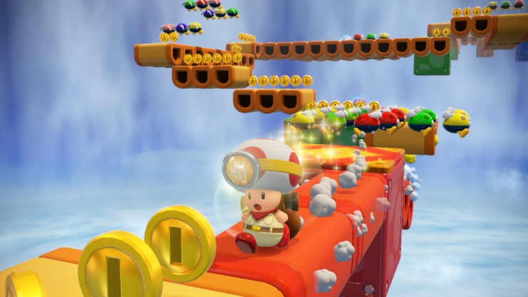 Captain Toad Treasure Tracker - Toad Running