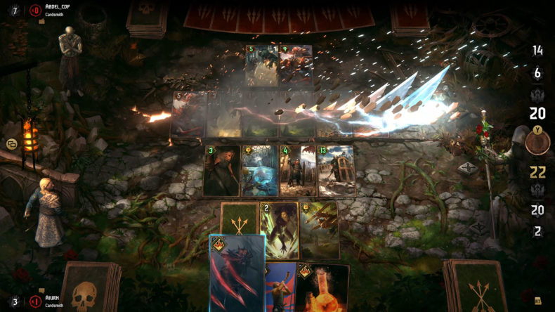GWENT expansion Way of the Witcher