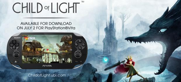 Child of Light PS Vita Featured