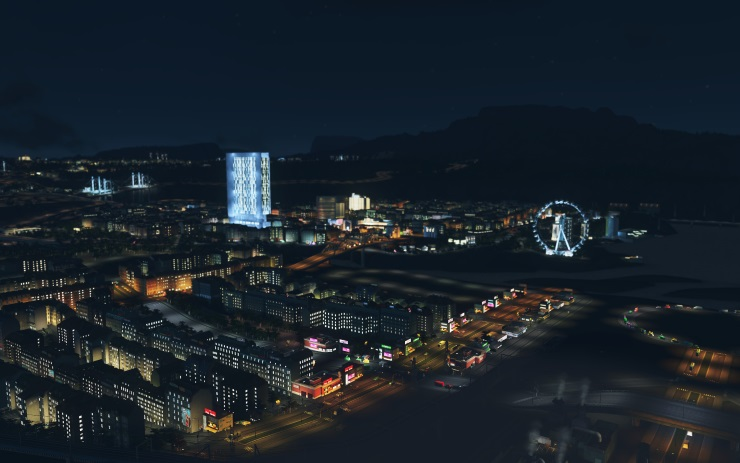 Cities Skylines After Dark review screenshot