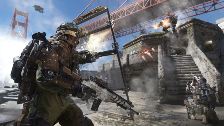 CoD Advanced Warfare Under the Bridge