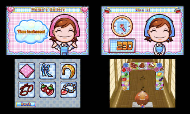 Cooking Mama 4 - Walking