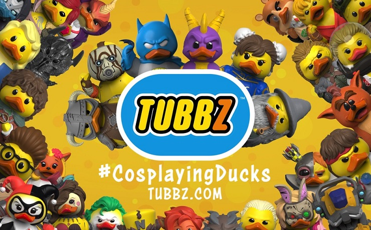 Numbskull unveil TUBBZ, a series of collectable cosplaying rubber ducks