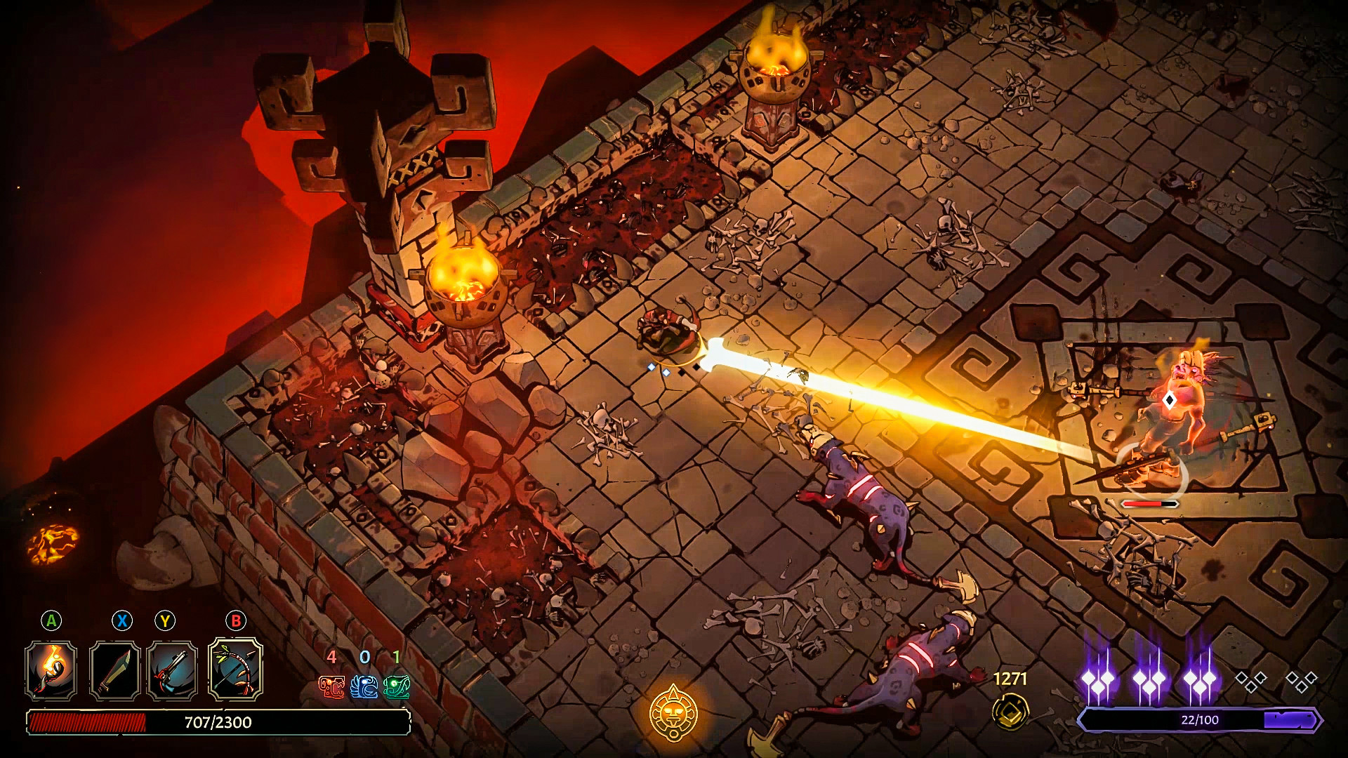 Curse of the Dead Gods screenshot