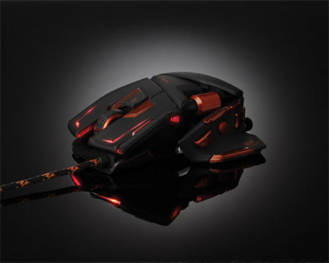 Cyborg MMO Mouse - View