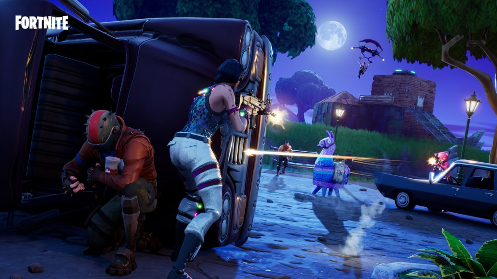 fortnite patch 6 31 adds the team rumble ltm a legendary shotgun and more with downtime live now - when is the fortnite downtime over