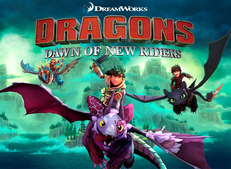 Dreamworks Dragons Dawn Of New Riders Coming To Consoles And Pc In