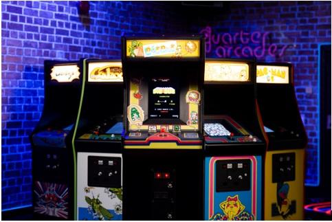DIG DUG Quarter Arcade Cabinet