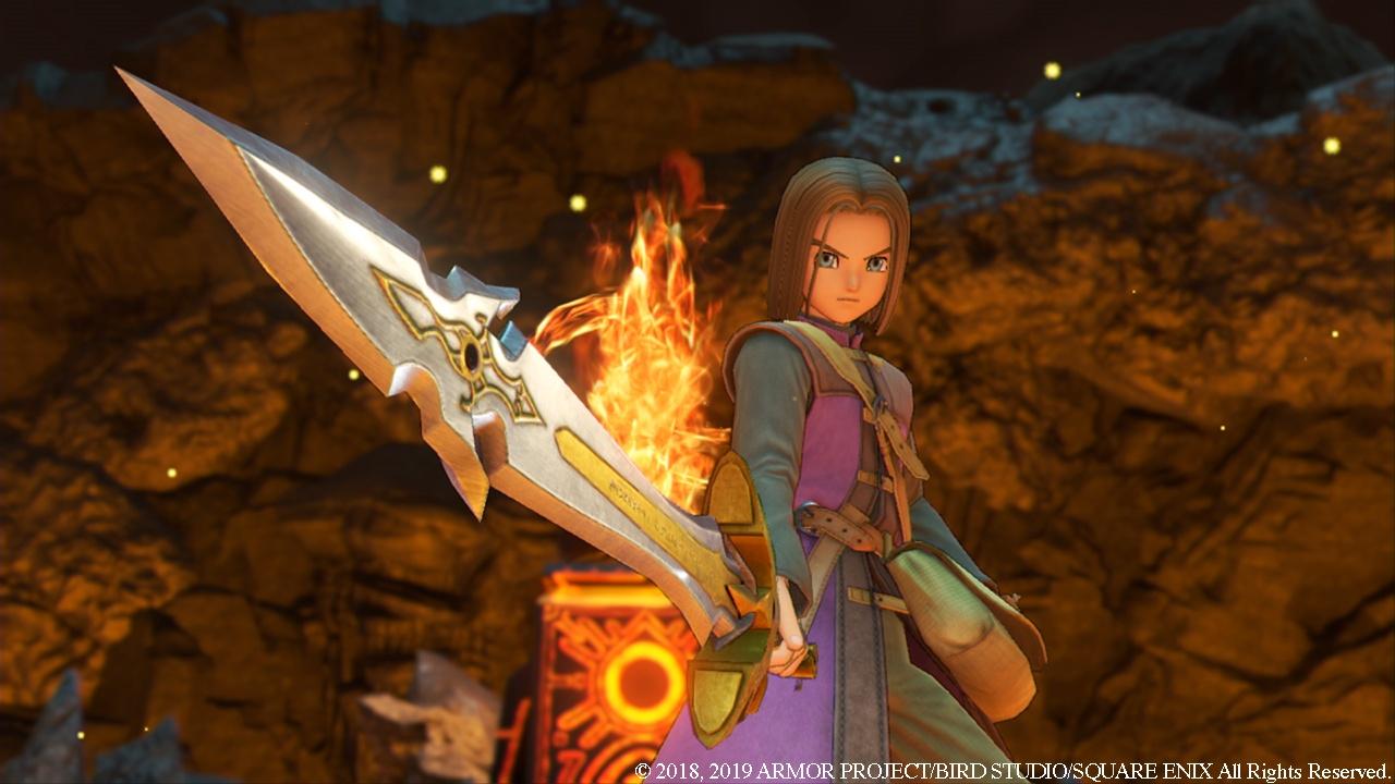 Now you have a flame sword, ho ho ho.