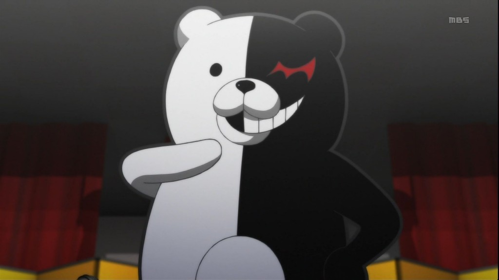 Danganronpa_Monokuma_introducing_himself