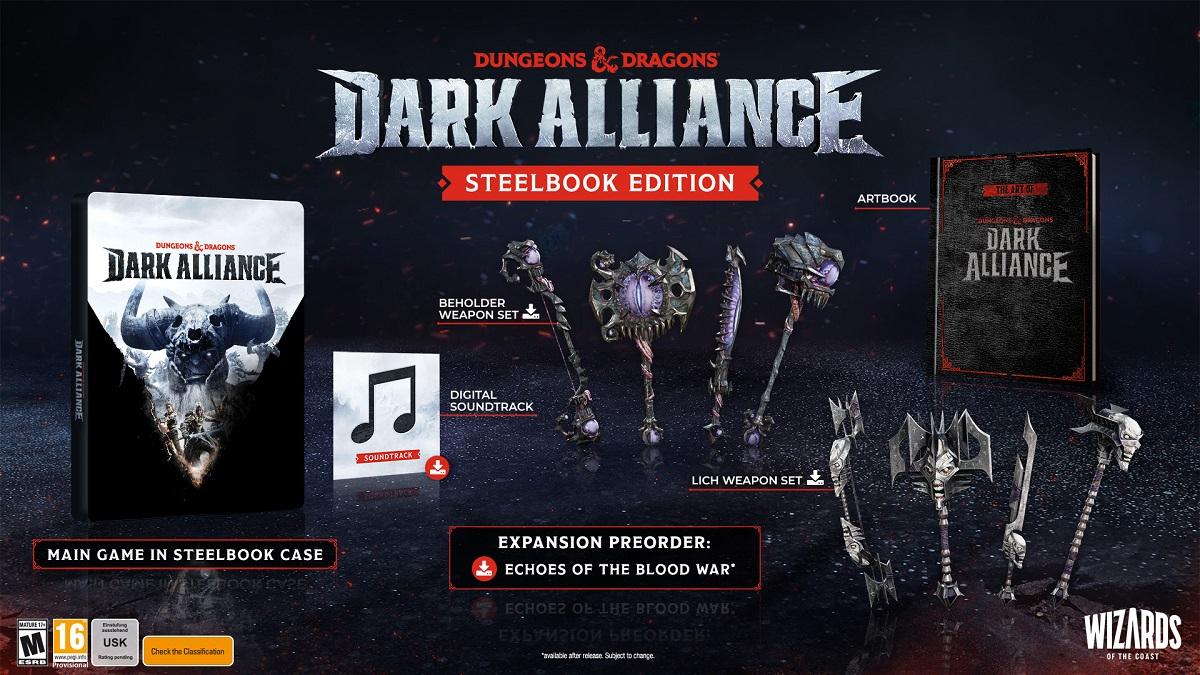 Dark Alliance release date news