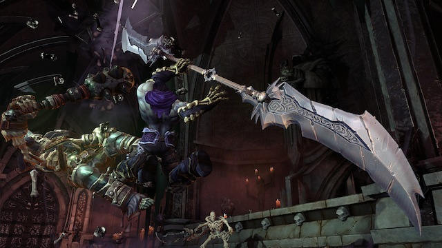 Darksiders II - Glaive Attack