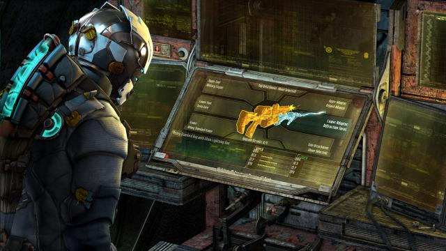 Dead Space 3 - Weapon Crafting