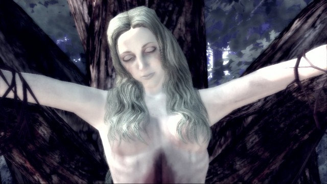 Anna-Graham-is-found-in-the-forest,-a-Goddess-of-the-Woods.