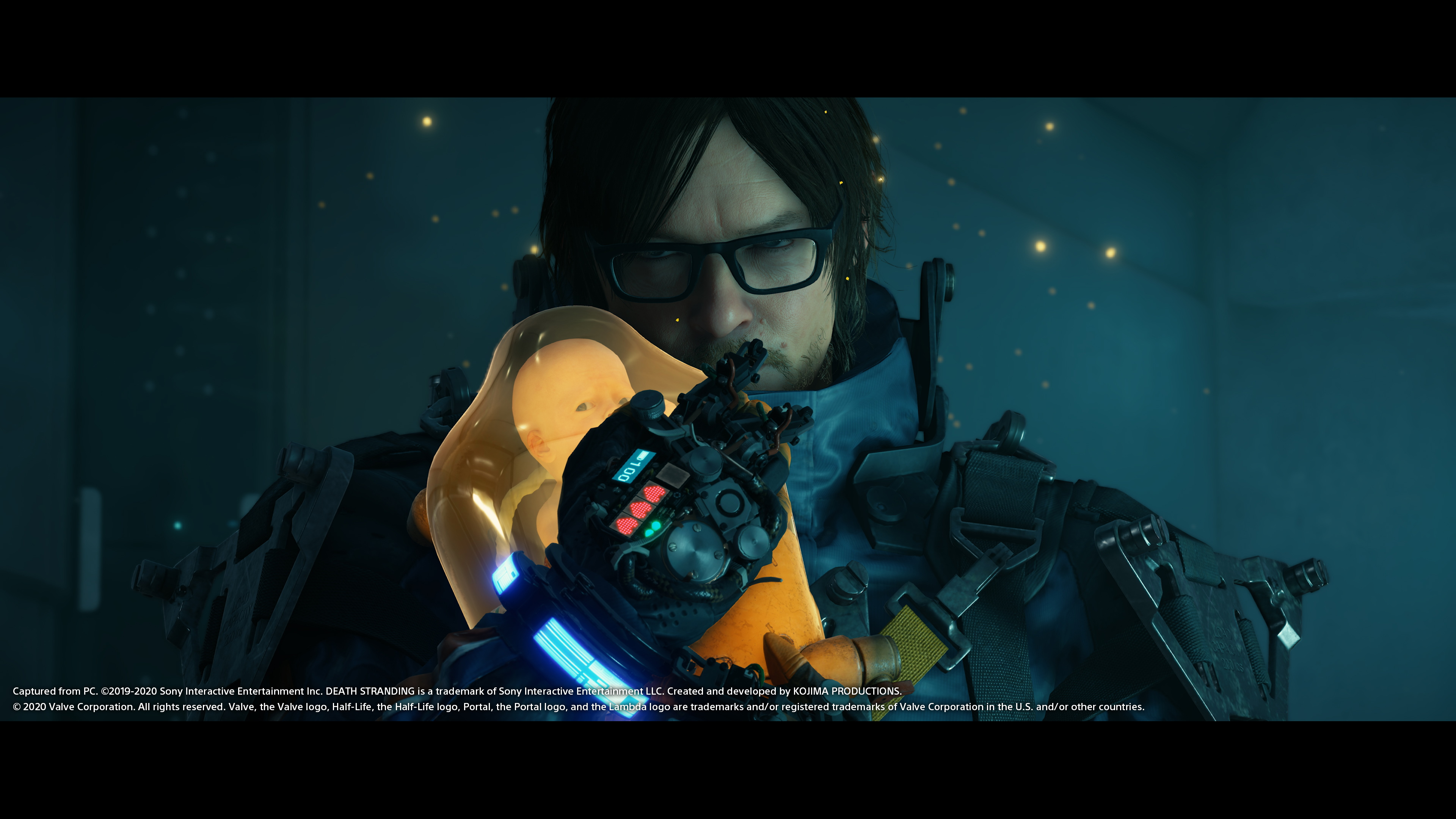 A screenshot from Death Stranding on PC