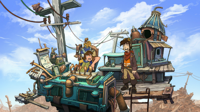Deponia - Screenshot 02