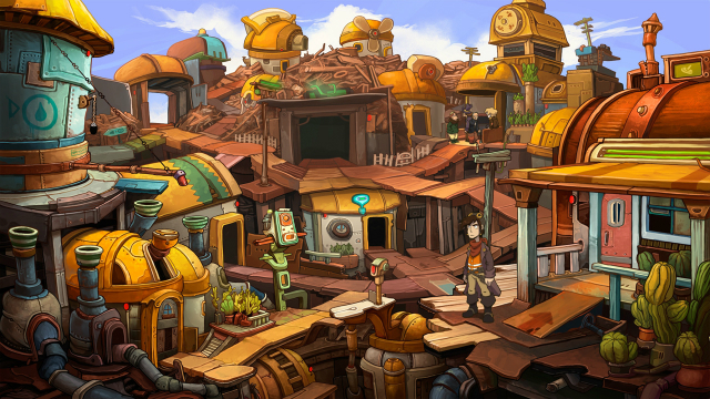 Deponia - Screenshot 04
