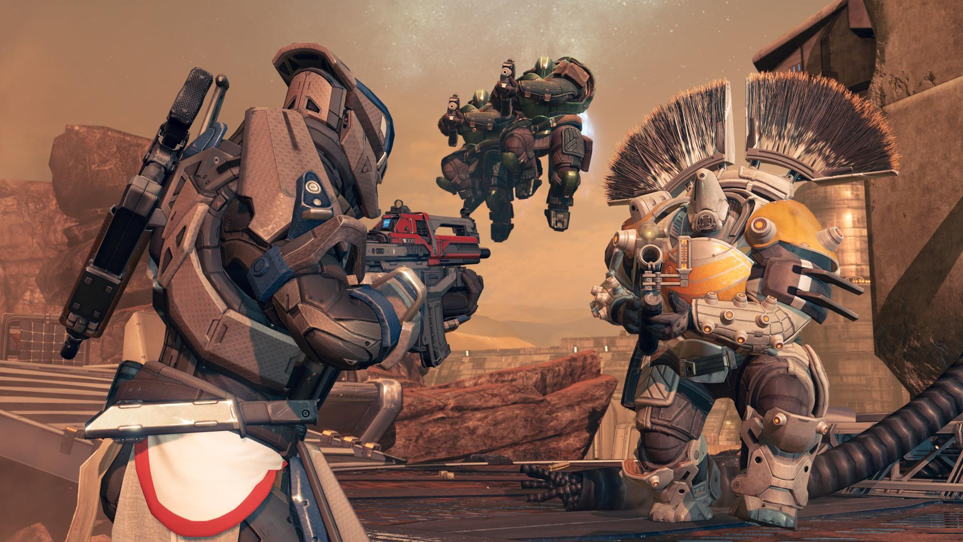 Destiny Review - Mars