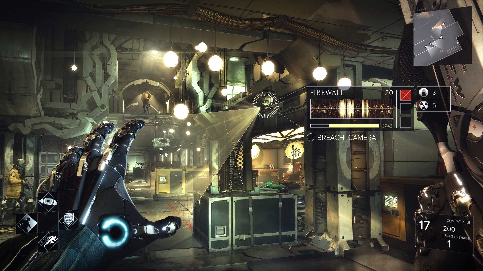 Deus Ex Mankind Divided remote hacking