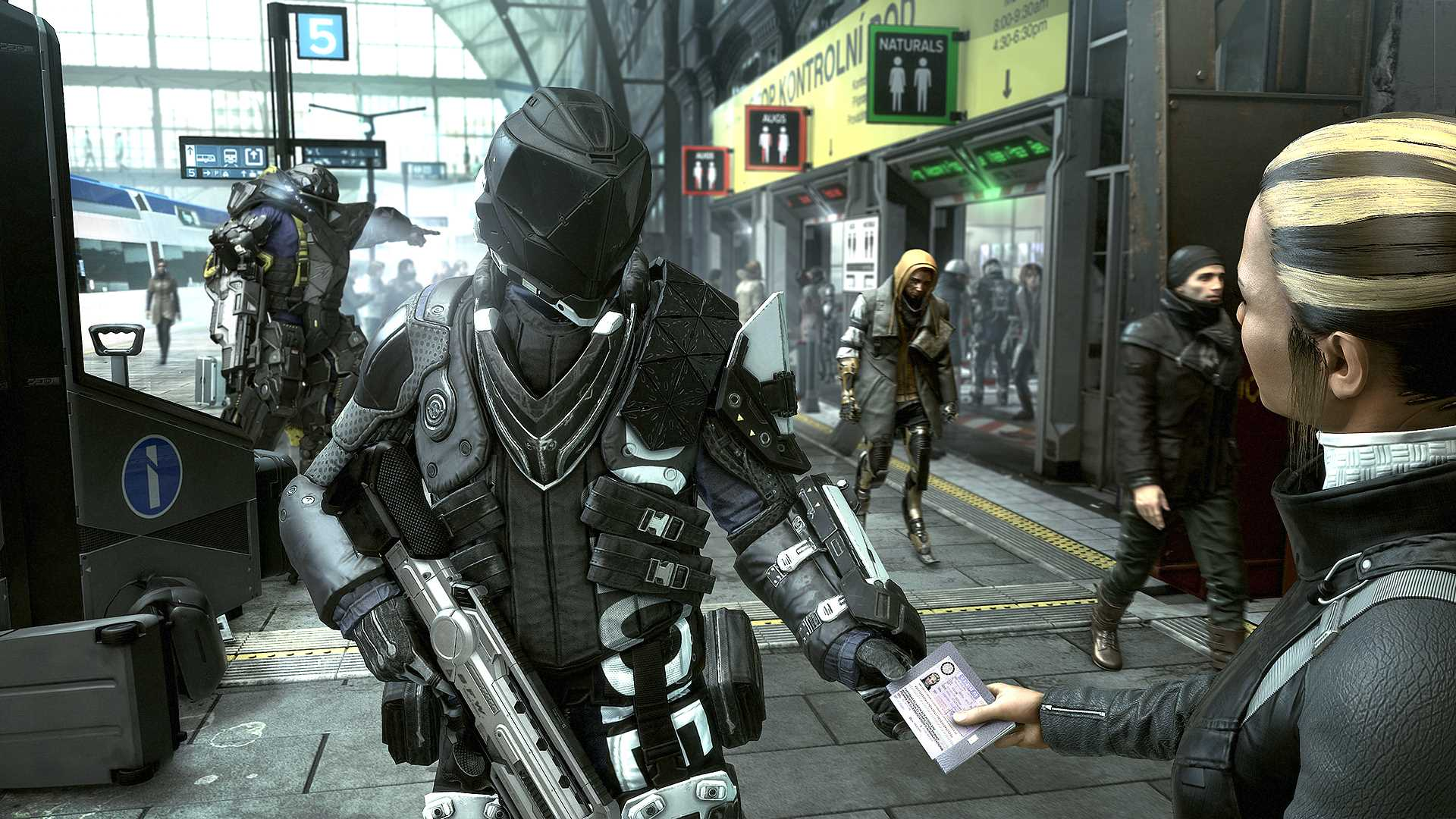 Deus Ex Mankind Divided streets