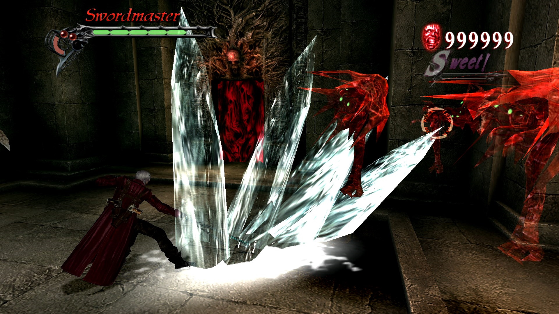 A screenshot from Devil May Cry 3: Special Edition