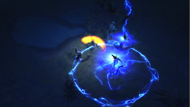 Diablo III - Monk Using Lashing Tail Kick