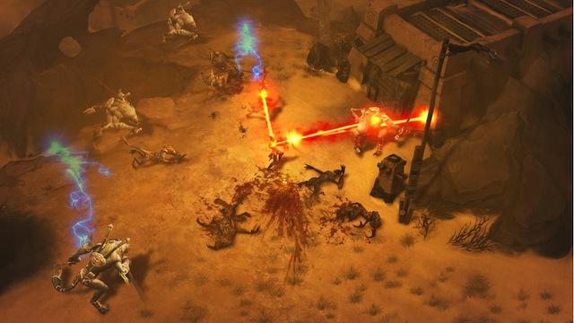 Diablo III - Wizard Disintegrate