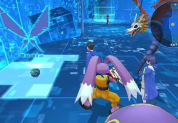 Digimon Territory battle