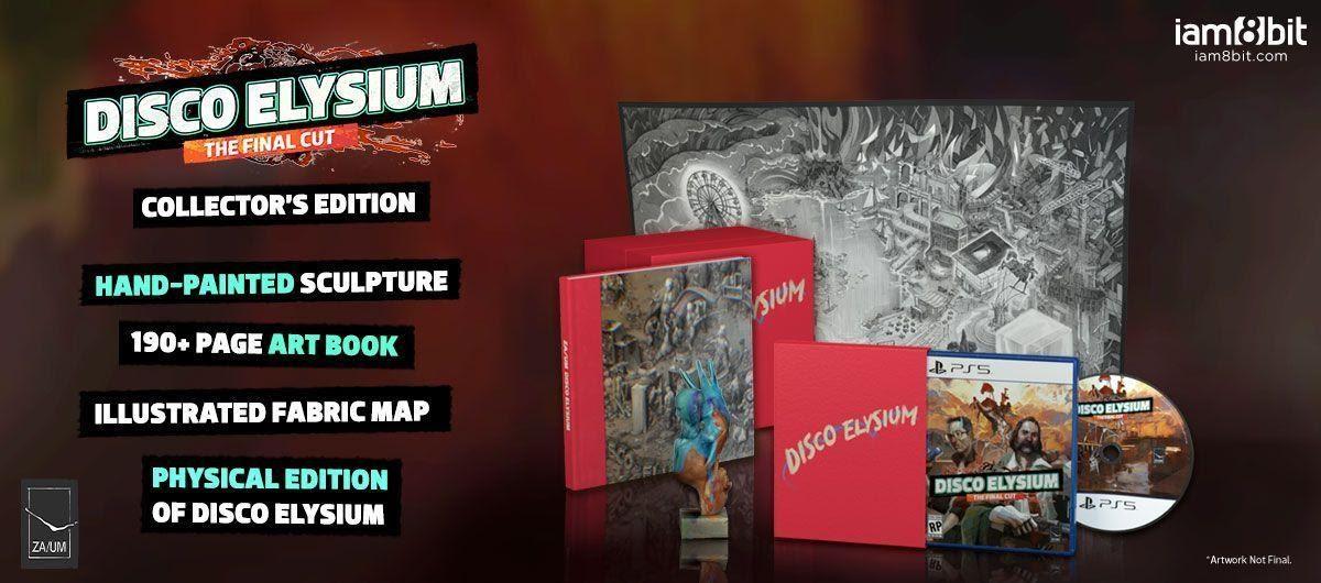 Disco Elysium The Final Cut Collectors Edition Contents