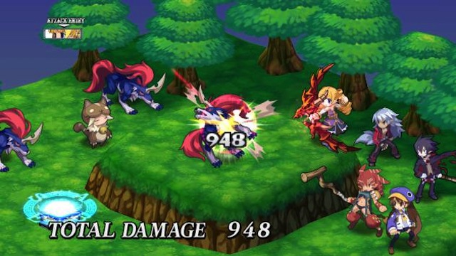 Disgaea-4-Attacking