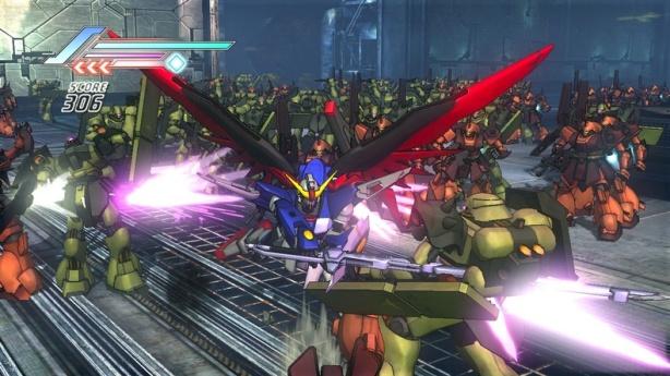 Dynasty Warriors Gundam 3 Screenshot