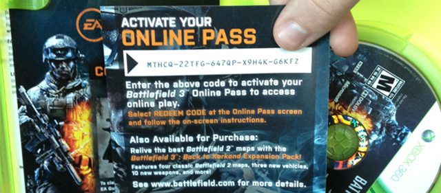 EA Still Plan To Drop Online Passes