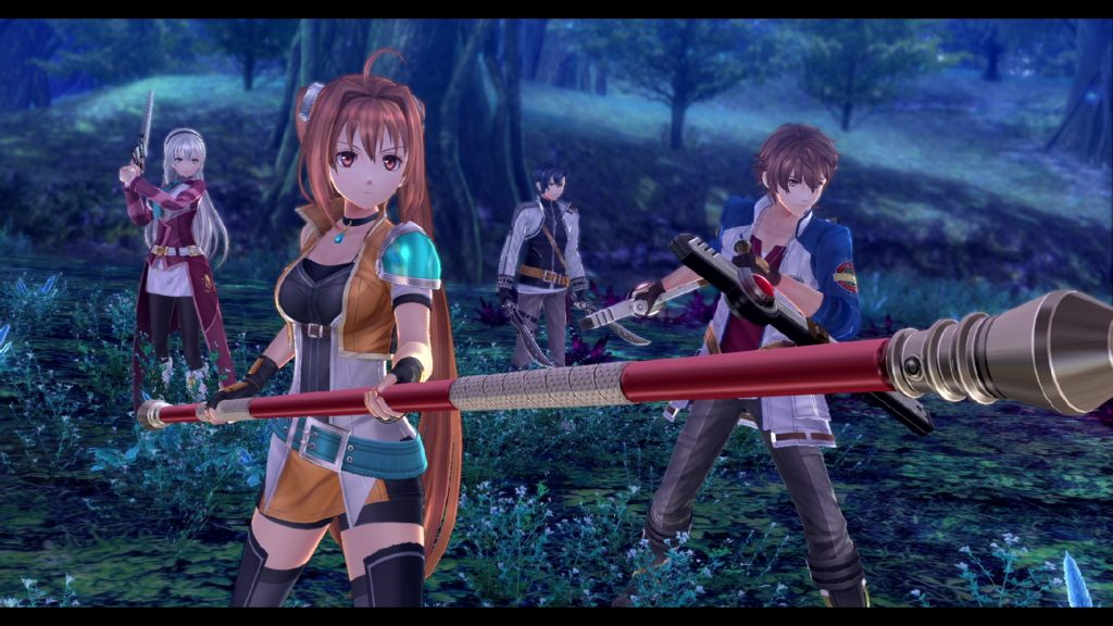 A screenshot of upcoming NISA game Trails of Cold Steel 4